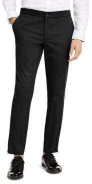 INC International Concepts Inc Onyx Men's Slim-Fit Tech Pants, Created for Macy's