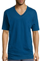 STAFFORD Stafford 3-pk. Short-Sleeve Heavyweight V-Neck Tees - Big & Tall