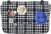 Vivienne Westwood Medium Avon Plaid Wool Bag With Pins