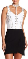 Wow Couture Embellished Bodycon Bodysuit