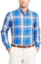 Chaps Men's Classic-Fit Plaid Easy-Care Button-Down Shirt