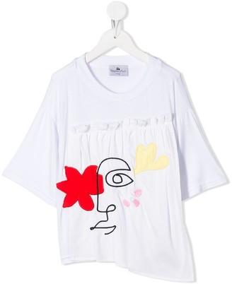 Raspberry Plum Shani T-shirt