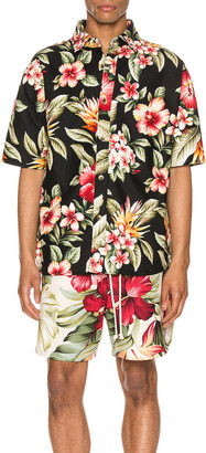 Jungle Kailo Short Sleeve Shirt in Bold Hibiscus | FWRD