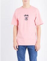 Stussy Brand logo cotton-jersey t-shirt