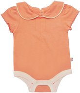 Baby Soy Puff-Sleeve Bodysuit (Baby) - Cantaloupe-6-12 Months