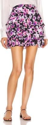 IRO Sprink Skirt in Purple | FWRD