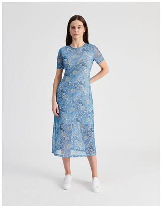 Hi There From Karen Walker Mesh Midi Dress