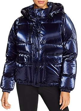 Blanc Noir Hooded Down Puffer Jacket