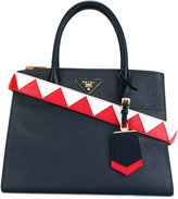 Prada double handles tote - women - Lamb Skin - One Size