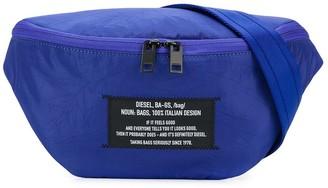 Diesel Logo Patch Belt Bag