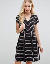 Oasis Stripe Skater Dress