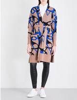 By Malene Birger Abstract-patterned knitted cardigan