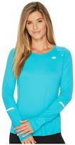 New Balance NB Ice Long Sleeve Shirt Women's Long Sleeve Pullover