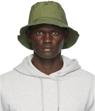 Norse Projects Green Nylon Bucket Hat
