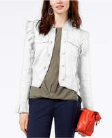 INC International Concepts I.n.c. Ruffled Linen Jacket, Created for Macy's