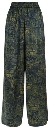 Klements Pluto Pants In Abandoned Village Print
