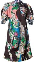Comme des Garcons printed oversized dress