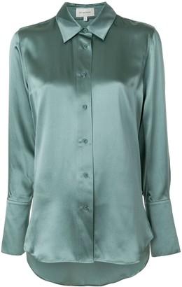 Lee Mathews Stella satin shirt