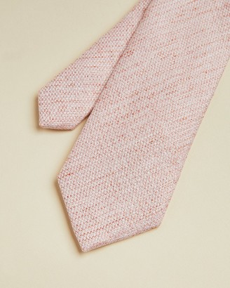 Ted Baker Silk And Linen Knitted Tie