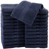 Martex Commercial Wash Cloth, Navy, Pack of 24