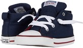 Converse Chuck Taylor(r) All Star(r) Street Varsity (Infant/Toddler) (Obsidian/White/Team Red) Boy's Shoes