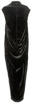 Rick Owens Seahorse Velvet Dress