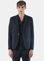 Saint Laurent Men's 2 Button Jacket In Black