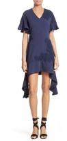 Jonathan Simkhai Women's Lace Applique Mixed Media Dress