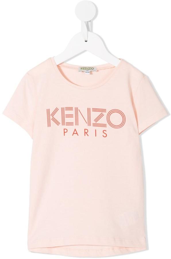 Kenzo Kids logo print T-shirt