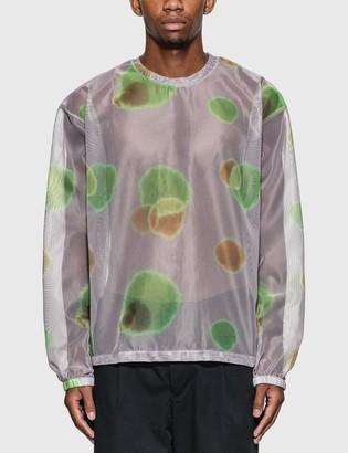 Stussy Printed Mesh Long Sleeve T-Shirt