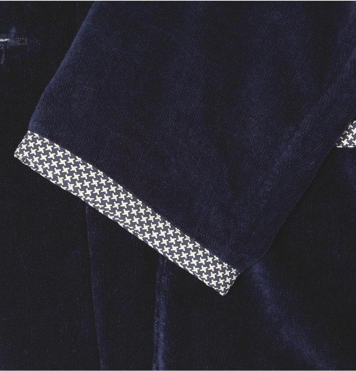 Brioni Cotton-Terry Blazer