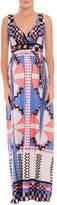 Olian Women's 'Estelle' Print Maternity Maxi Dress