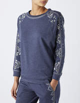 Rita Embroidered Sweatshirt