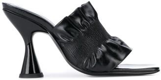 Dorateymur Stainless ruched sandals