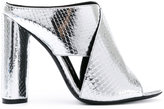 Tom Ford snakeskin effect mules - women - Leather - 36.5