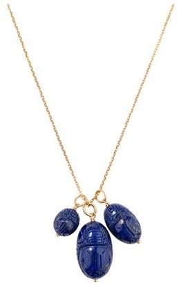 Aurelie Bidermann Scarabee lapis lazuli pendant