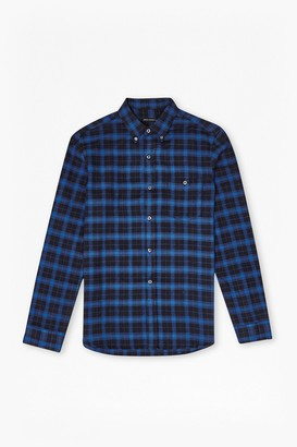 French Connection Checked Flannel Shirt