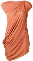 Rick Owens Lilies asymmetric draped vest top - women - Cotton/Polyamide/Viscose - 40