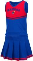 Colosseum Girls Youth Royal Kansas Jayhawks Pinky Cheer Dress