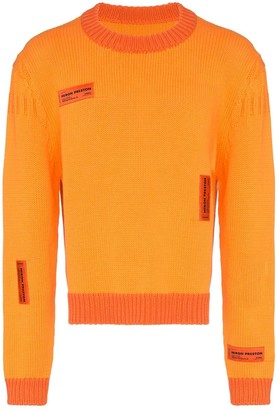Heron Preston Crazy label jumper