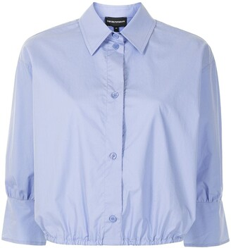 Emporio Armani Elasticated-Waist Shirt