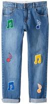 Stella McCartney Lohan Patched Denim Pants Boy's Casual Pants