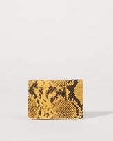 Jigsaw Leather Card Holder