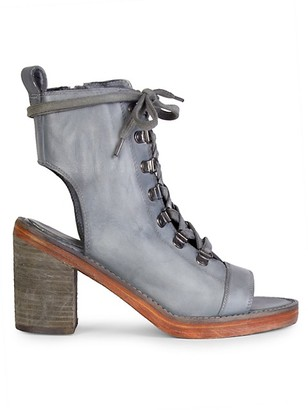 Free People City Of Lights Cutout Leather Boots