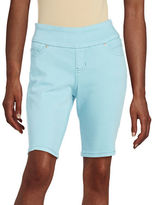 Jag Jordan Rolled Stretch-Cotton Bermuda Shorts