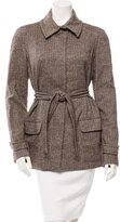 Vanessa Bruno Wool Belted Jacket