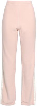 Rag & Bone Striped French Cotton-terry Track Pants