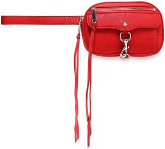 Rebecca Minkoff Blythe Textured-leather Belt Bag