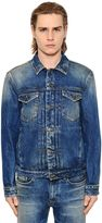 Calvin Klein Jeans Stone Washed Cotton Denim Jacket