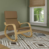 Asstd National Brand Fabric Rocking Chair